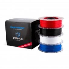 EasyPrint PLA Value Pack - 1.75mm - 4 x 500 g - Weiss, Schwarz, Rot, Blau