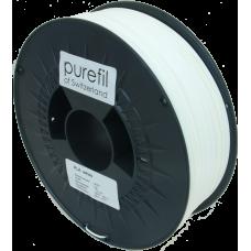 purefil of Switzerland - PLA Filament - 1.75mm - Weiss - 1000g