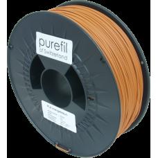 purefil of Switzerland - PLA Filament - 1.75mm - Orangebraun - 1000g