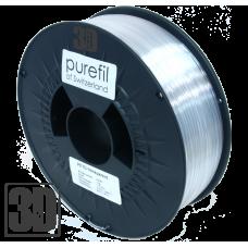 purefil of Switzerland - PETG Filament - 1.75mm - Transparent - 1000g