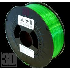 purefil of Switzerland - PETG Filament - 1.75mm - Grün Transparent - 1000g