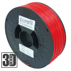 purefil of Switzerland - ABS Filament - 1.75mm - Rot - 1000g