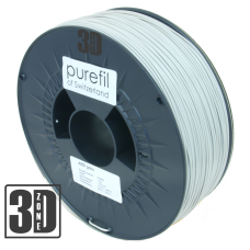 purefil of Switzerland - ABS Filament - 1.75mm - Hellgrau - 1000g
