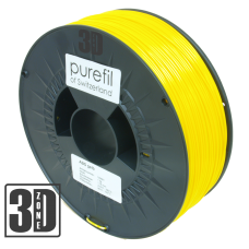 purefil of Switzerland - ABS Filament - 1.75mm - Gelb - 1000g