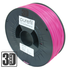 purefil of Switzerland - ABS Filament - 1.75mm - Pink - 1000g
