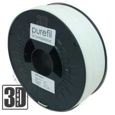 purefil of Switzerland - ABS Filament - 1.75mm - Weiss - 1000g