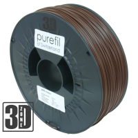 purefil of Switzerland - ABS Filament - 1.75mm - Braun - 1000g
