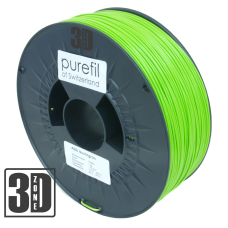 purefil of Switzerland - ABS Filament - 1.75mm - Leuchtgrün - 1000g