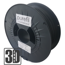 purefil of Switzerland - TPC Filament - 1.75mm - Schwarz - 1000g
