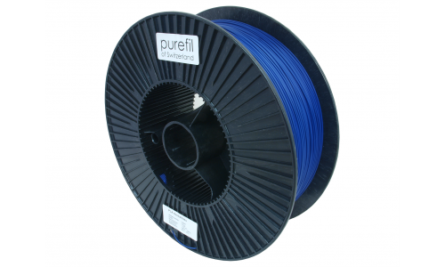 purefil of Switzerland - PLA Filament - 1.75mm - Dunkelblau - 2.5kg