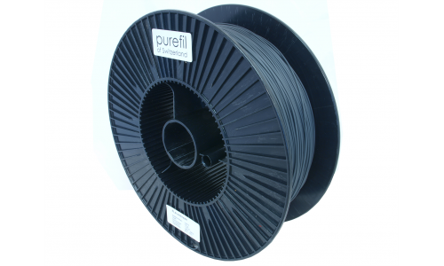 purefil of Switzerland - PLA Filament - 1.75mm - Anthrazit - 2.5kg