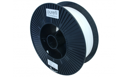 purefil of Switzerland - PLA Filament - 1.75mm - Weiss - 2.5kg