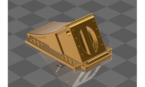 Unterlegekeil inkl Halterung - 1:14  - by 3D-Zone