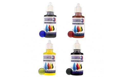 Monocure 3D CMYK Pigment Set (4 x 30 ml)