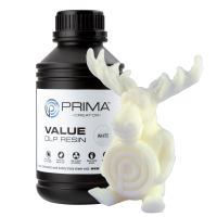 PrimaCreator - Value DLP/UV Resin - Weiss - 500ml