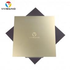 Vivedino Flexplate - 410 x 420 mm - Magnetisches Federstahlblech mit PEI Oberfläche