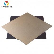 Vivedino Flexplate Powdercoated - 410 x 420 mm - Magnetisches,  pulverbeschichtetes Federstahlblech mit PEI Oberfläche