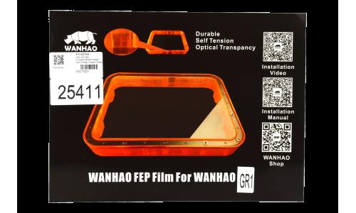 Wanhao GR1 - FEP Film - 0.15mm x 220mm x 160mm