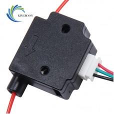 Kingroon Filament Sensor - 1.75mm - Schwarz - inkl. 1m Kabel mit Stecker (vormontiert)